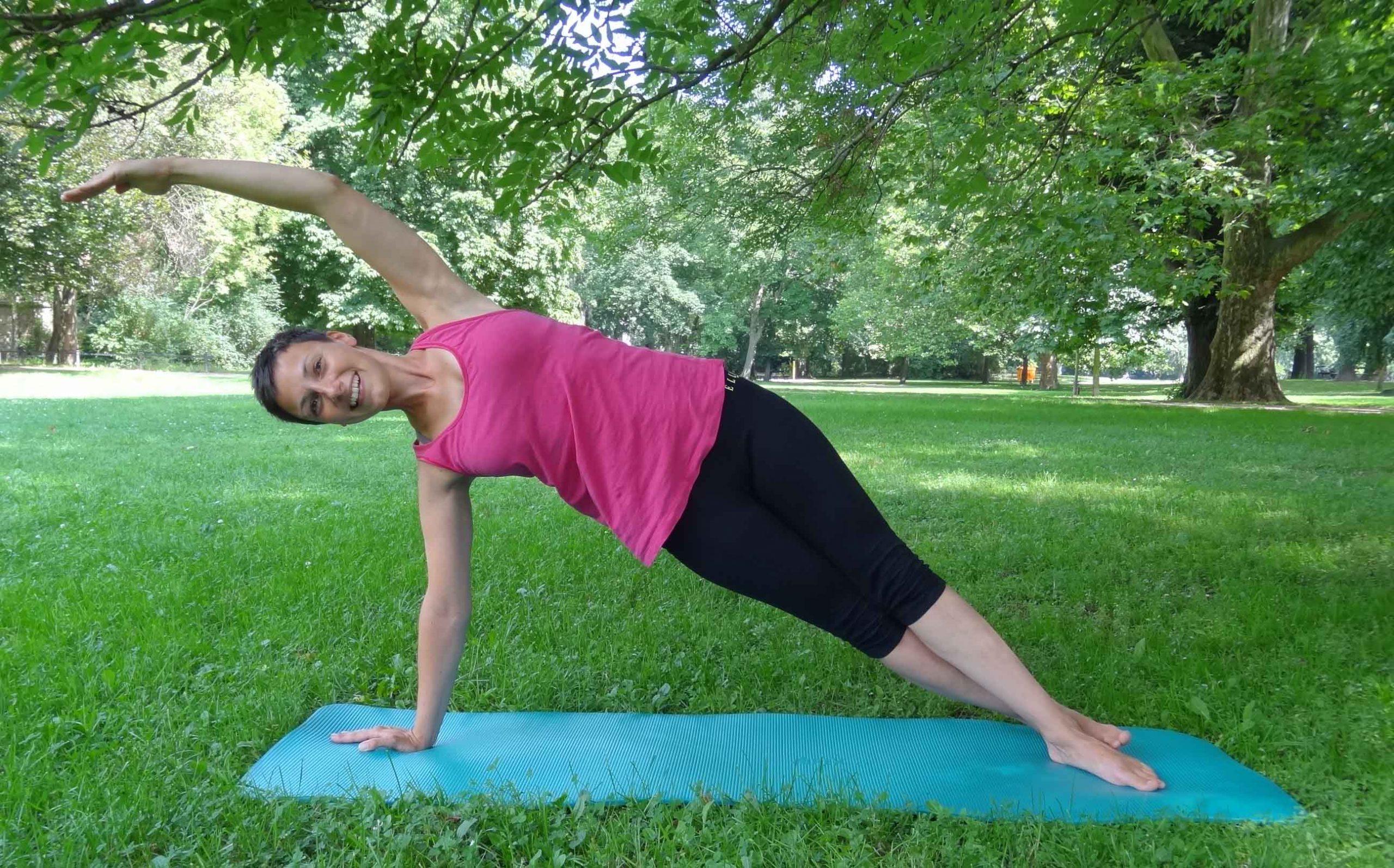 Pilates im Park, Mittwochs 17.30 Uhr!