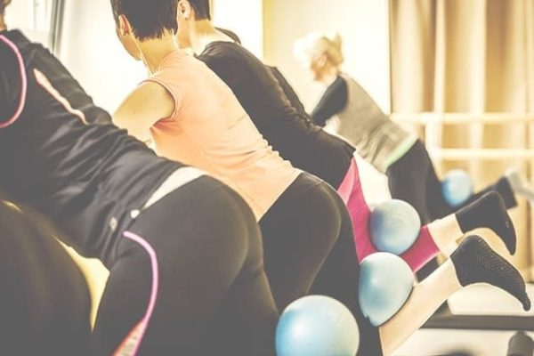 Barre Workout Pilates Ball Leipzig
