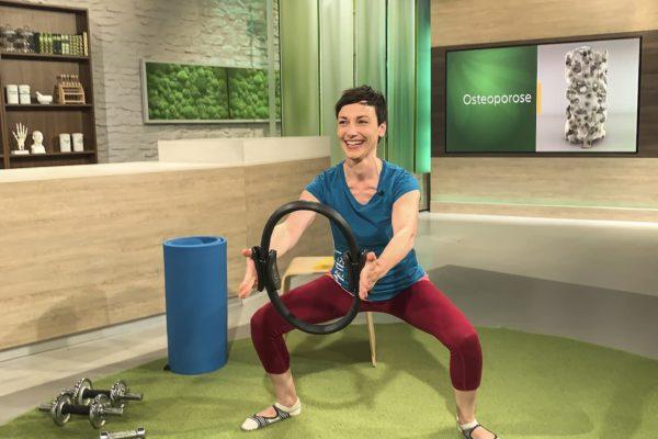 MDR Hauptsache Gesund: Pilates Ring (Presse)
