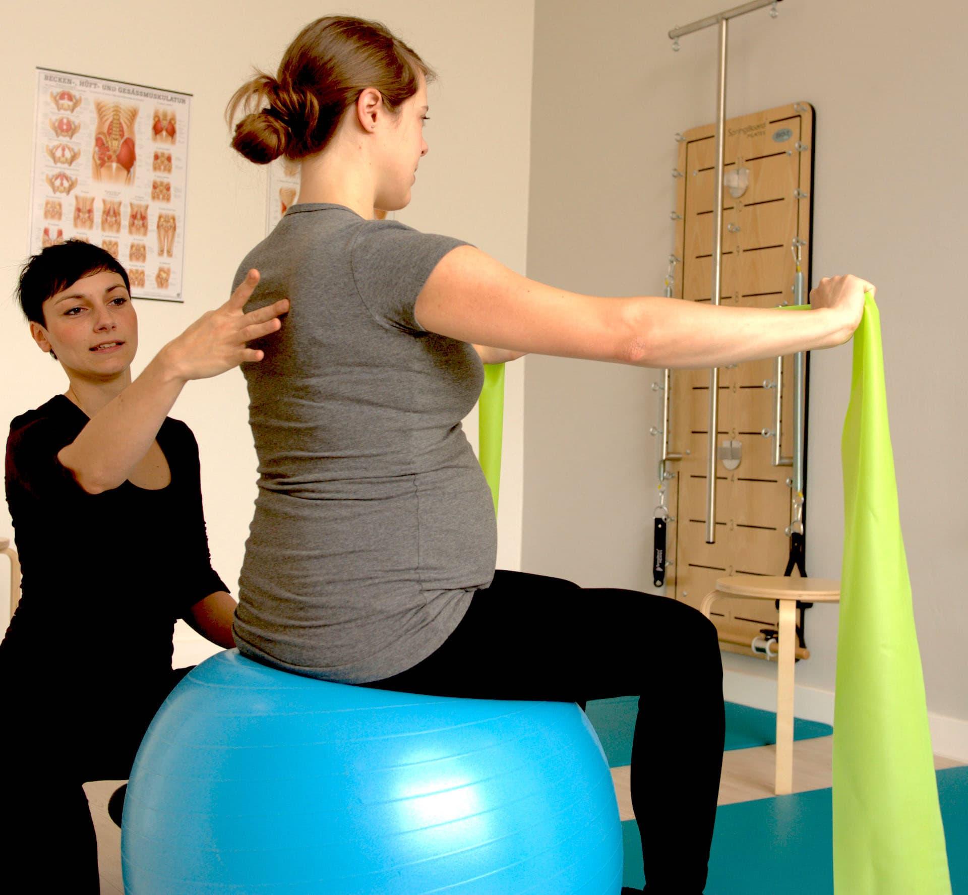 Schwangeren- und Mama-Baby-Pilates in Gohlis ab 9.7.21