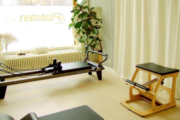 Pilates Geräte: Allegro Reformer, Wunda Chair